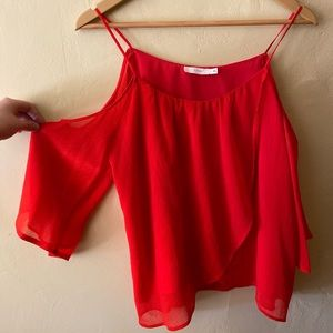 Red fancy top